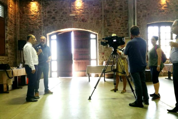 HYDROUSA Interview at Greek National Television (ERT)