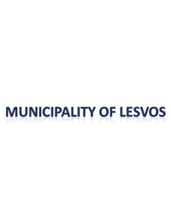 MUNICIPALITY OF LESVOS