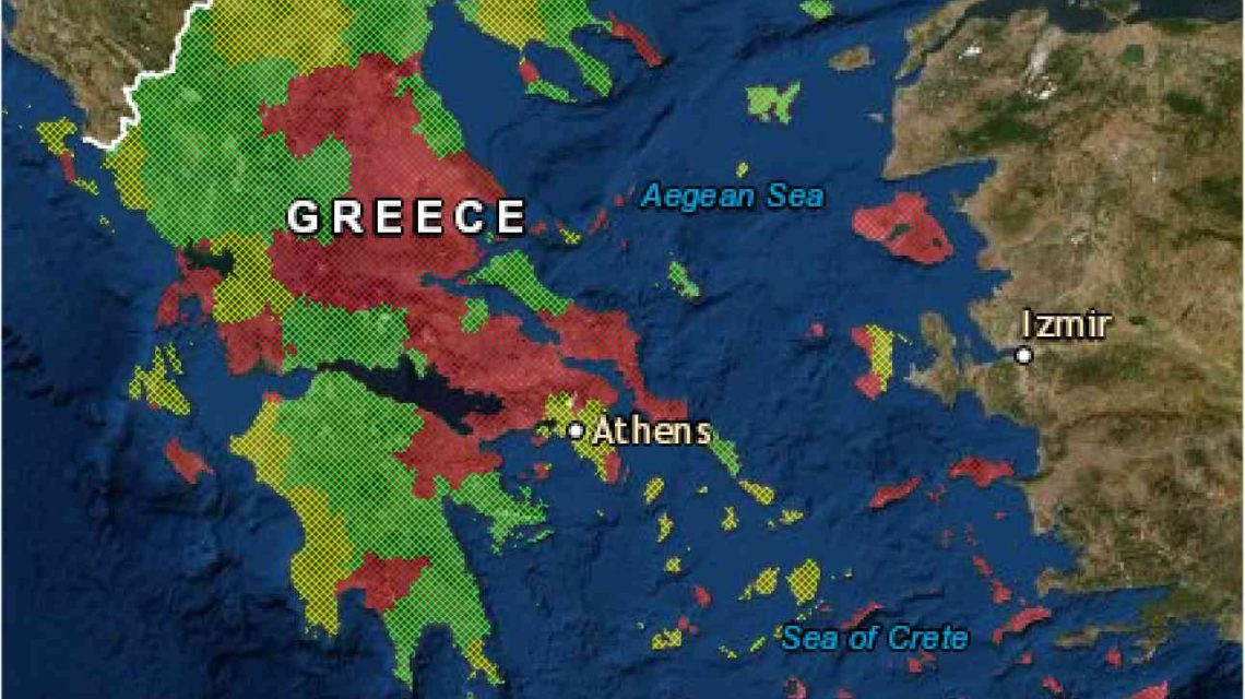 EffiSpray Map (Greece)