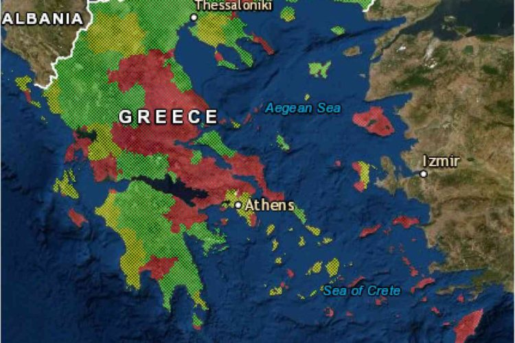 EffiSpray Map (Greece)